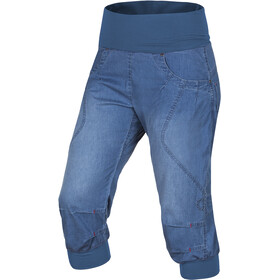 Ocun Noya Pantalones cortos de vaquero Mujer, middle blue